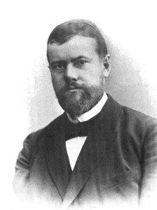 Max Weber, sociólogo alemão